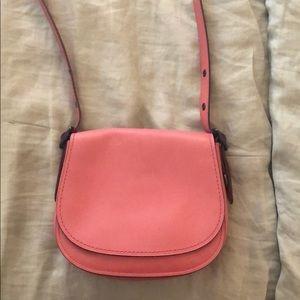 Gorgeous Pink COACH Crossbody Saddle Bag!
